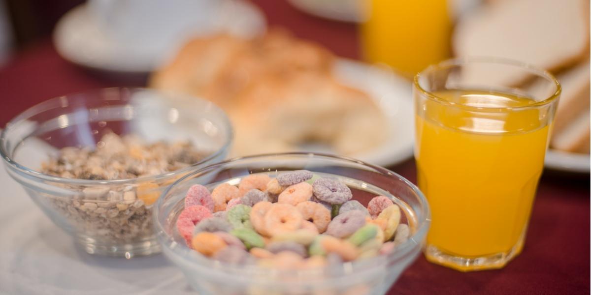 desayuno hotel