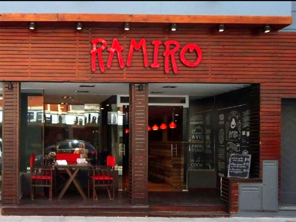 fachada restaurante ramiro